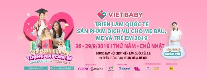 triển lãm Vietbabyfair 2020