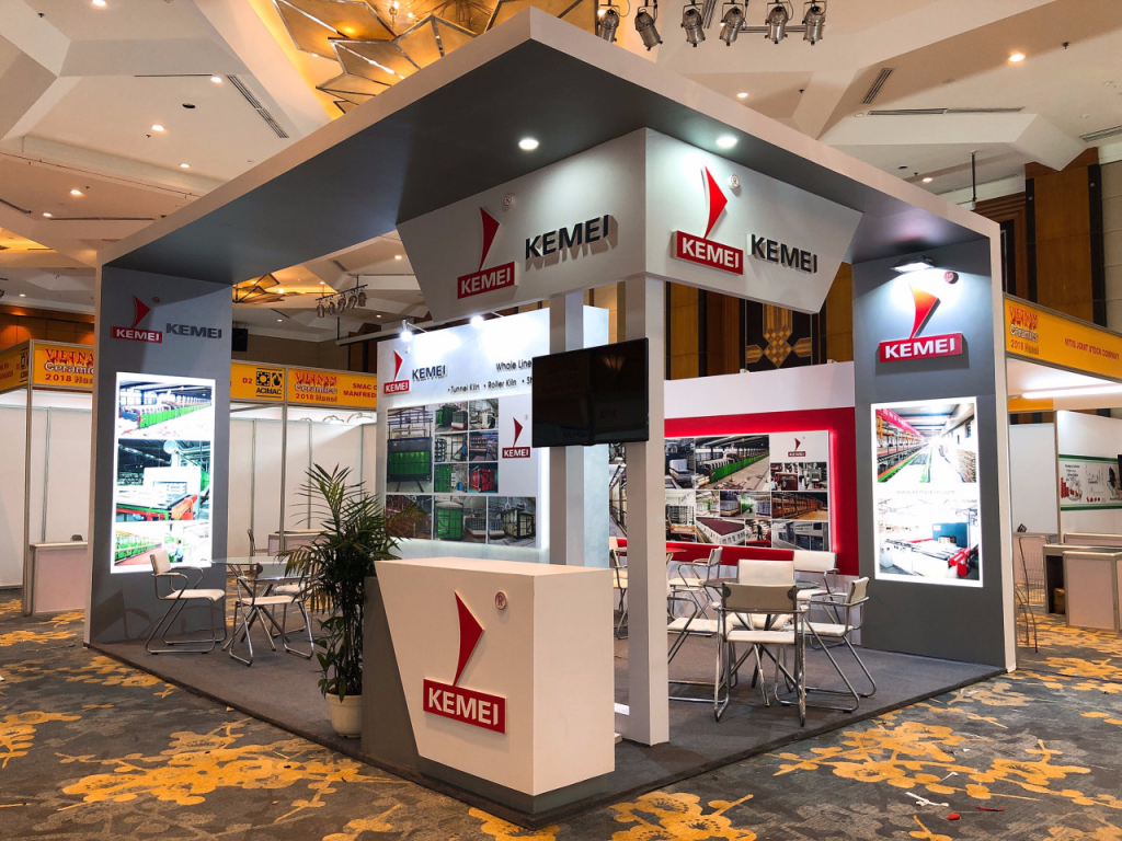 Design & construction special booth in Vietnam