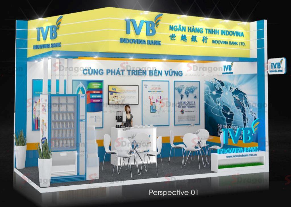 gian hàng hội chợ Vietnam Motorshow 2020