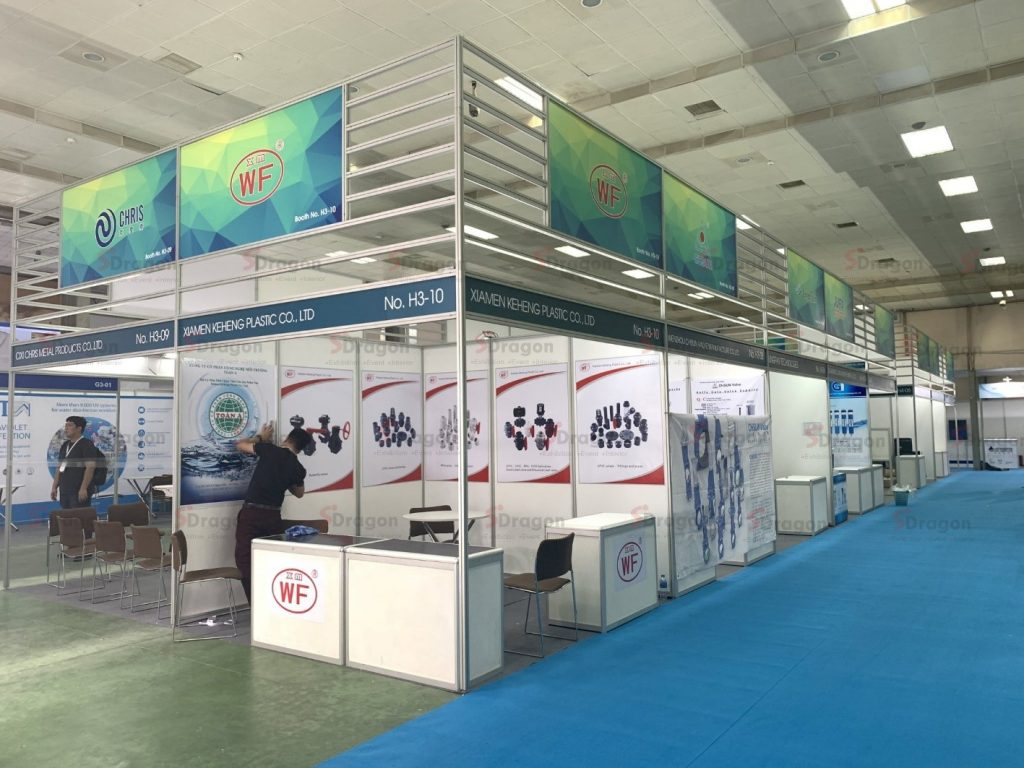 Design special booth in Vietwater 2020