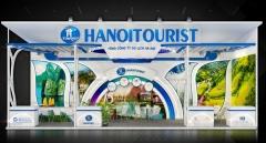 Thiết kế gian hàng du lịch trọn gói – VITM 2020