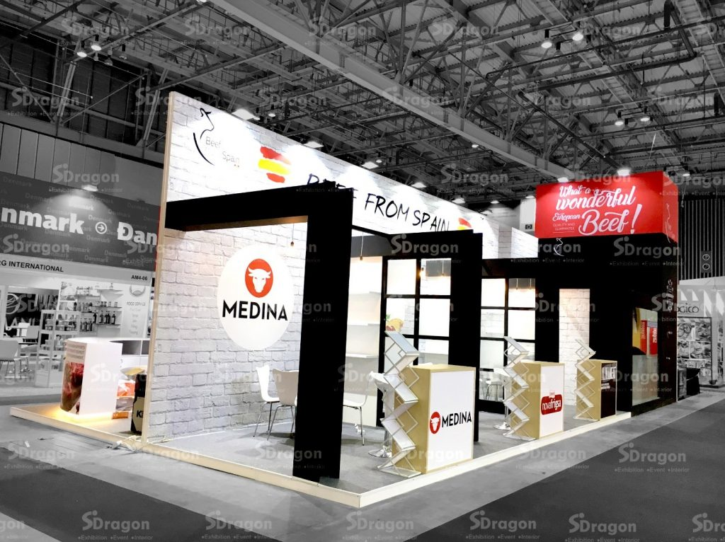 Design & Construction booth in Vietnam