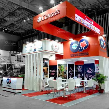 Design & Construction booth in Vietnam - Food&Hotel Hanoi (FHH) 2020