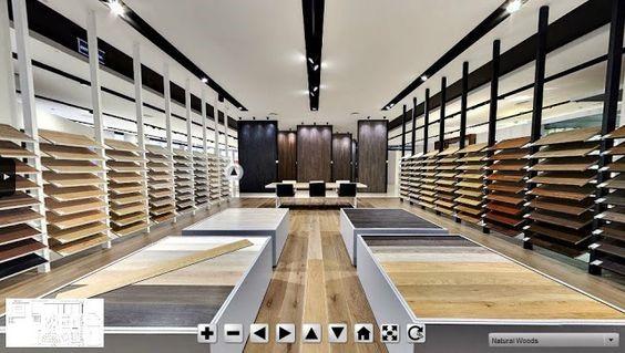 Thiết kế showroom gạch