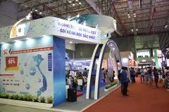 Thiết kế và thi công gian hàng ICTComm/Telefilm Vietnam 2020