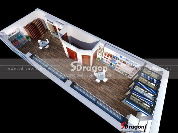 Thiết kế thi công Showroom Austdoor